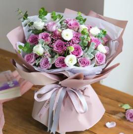 小妹訂婚送鮮花怎么樣    適合送給妹妹的訂婚花束