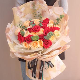 送朋友花束寫什么卡片,好友送花應該怎么選