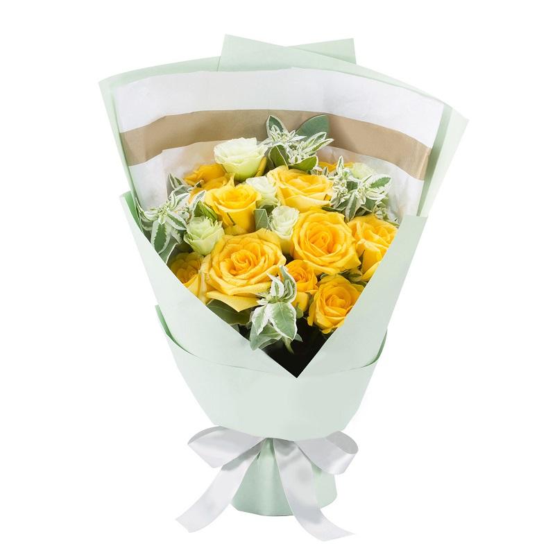 送11朵黃玫瑰可以嗎 送11朵黃玫瑰怎么樣
