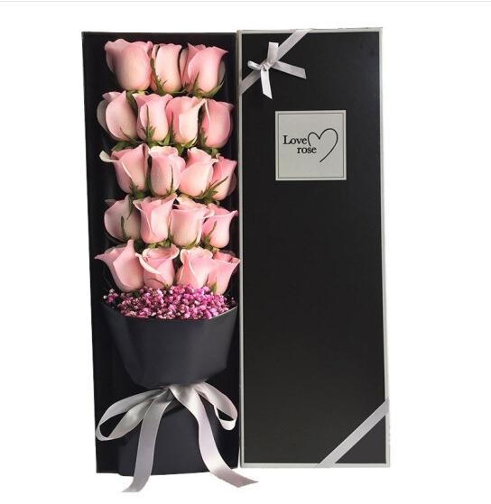 19枝粉玫瑰精美禮盒