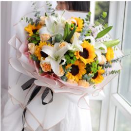 給退休老人送啥花    適合給退休爺爺送的花