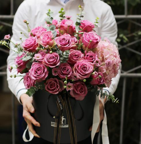 委托花店给女孩送花,网上订花的步骤有什么