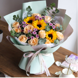 如何送花給女生    給女生送花她會開心嗎