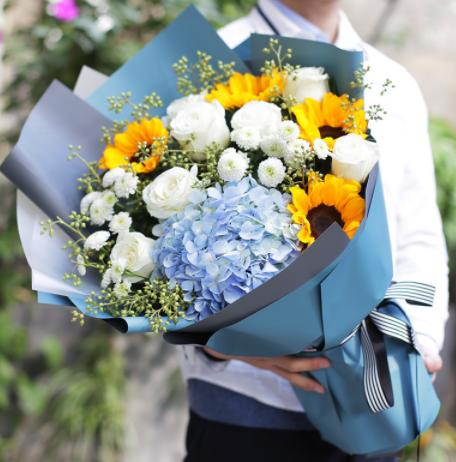 去醫院給患者送花,送花知識大全