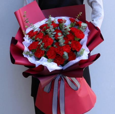 情人節送花賀卡的情話,網上送花的情話怎么寫