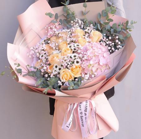 送花給愛的人怎么寫祝福語,愛人送花的祝福
