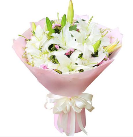 情人節送花賀卡內容,網上送花祝福怎么寫