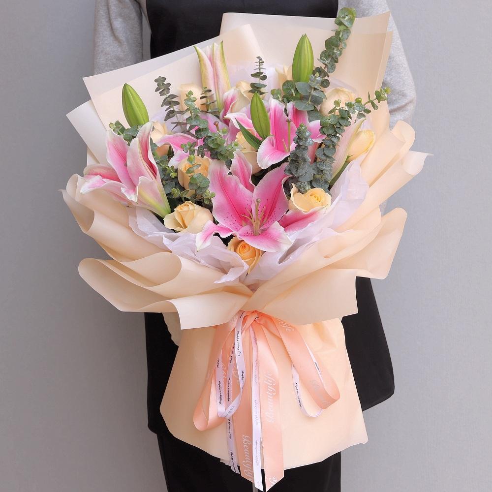 給客戶可以選擇送什么花 應該給客戶送的花是啥