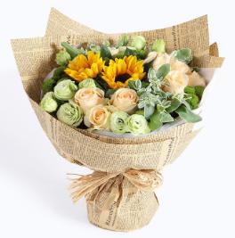 粉玫瑰送媽媽怎么樣    粉玫瑰搭配什么花送媽媽