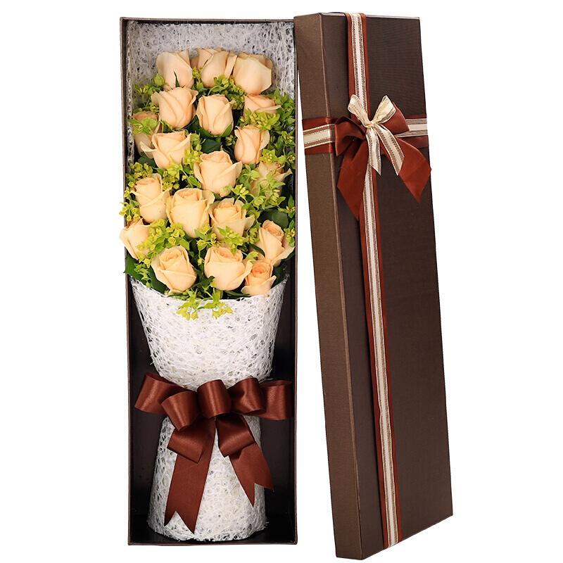 香檳玫瑰33朵的寓意是什么 33朵香檳玫瑰有什么寓意