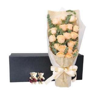 情人節送花的句子怎么寫  情人節送花卡片留言祝福語