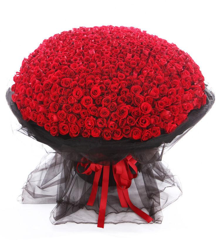 999朵红玫瑰大花束