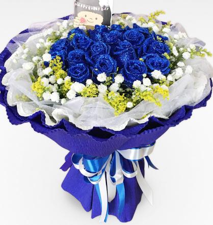 蓝色妖姬数量的意思 送蓝色妖姬的数量推荐