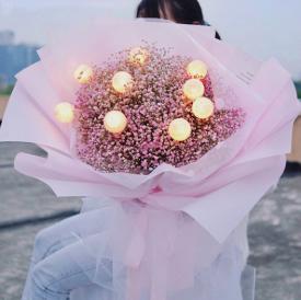 吃飯送花一般送什么花    吃飯送花有什么講究