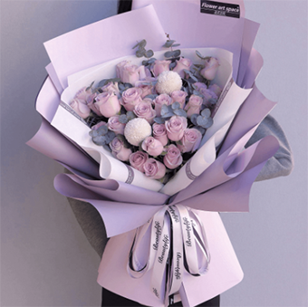 祝女友情人節快樂的花 適合情人節送的花